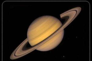 Satürn'nden yansıyan gizemli parıltılar.5974