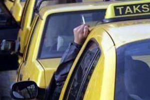 İstanbul'daki taksicilere 'plaka' cezası.13266