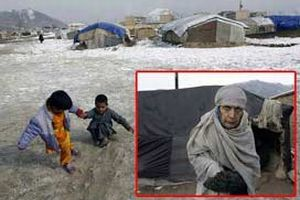 Afganistan'da kara kışta ölüm 654 oldu.15337