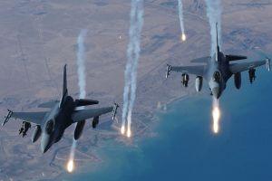 Şemdinli'de savaş jeti hareketliliği.9117