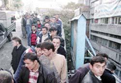 Madem Mühendislerinin işsizlik isyanı.11922