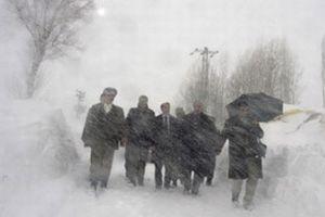 Yurt genelinde kar yağışı hayatı olumsuz etkiliyor.8409