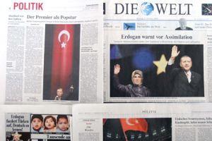 Alman basını: Erdoğan popstar gibi  .14336