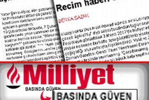 Ensar Vakf�, Milliyet'i b�yle yalanlad�.20326