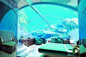 Deniz altında 7 katlı otel, dünyada ilk kez İstanbul'da .16506