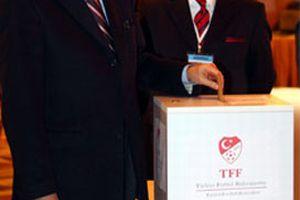 Türkiye Futbol Federasyonu'nda başkanlık seçimi.7532