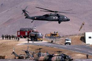 Şırnak'ta PKK'ya hava destekli operasyon.12711