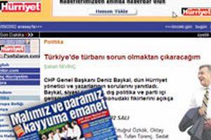 Bakan Mehmet Ali Şahin, Baykal'a o manşeti hatırlattı.16383