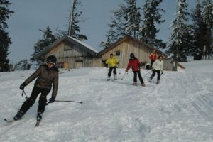 Kayak merkezlerinde yılbaşı hazırlığı.13895