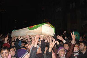 Diyarbakır'da izinsiz gösteri.11273
