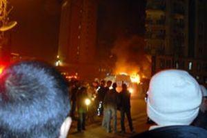 Kosova'da şiddetli patlama.10260