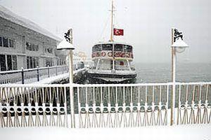 İstanbul'da kar etkisini kaybediyor.15681