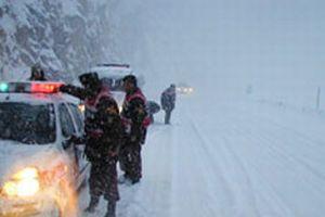 140 öğrenci donmak üzereyken kurtarıldı.8770