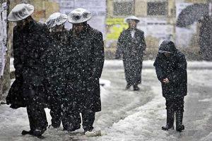 Kudüs'e yılın ikinci karı yağdı.19545