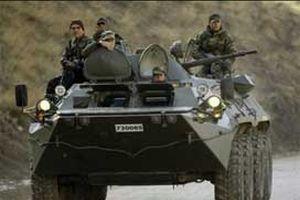Irak sınırında kara harekâtı provası.12457