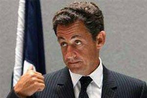 Fransa Cumhurbaşkanı Sarkozy İsrail'e gitti.11376