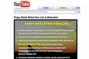 Skandal iddia: TSK'nın sırları YouTube'a düştü.9275
