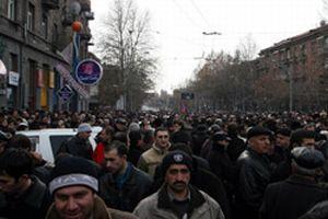 Erivan'da dev protesto gösterisi.13826