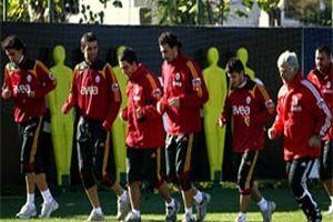Galatasaray hazırlanıyor.18161