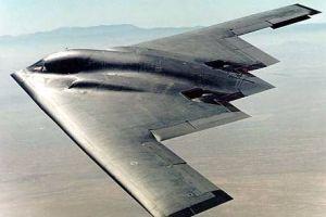 ABD'ye ait B-2 hayalet bombardıman uçağı düştü.10673