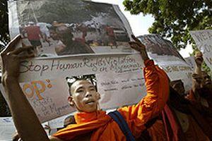 Askerin gölgesindeki ülke: Myanmar.17953