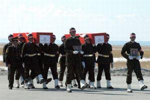 Şehit korucular için cenaze töreni düzenleniyor  .12150