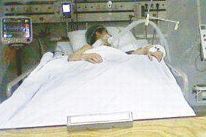 Mucize bebek Sadi Rıza sağlığına kavuştu.11576