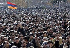 Ermenistan'da muhalefet darbe yapacak.27872