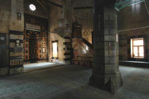 Diyarbakır'da cami kubbesi çöktü.10849