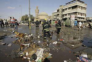Irak'ta korkunç patlama.21377