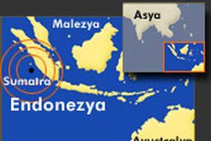 Endonezya'da 7.2 büyüklüğünde deprem.13747