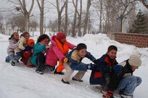 Hakkari'de okul tatili uzatıldı.15597