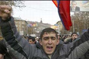 Ermenistan'da gerginlik tırmanıyor.12205