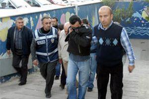 Yüksekova'daki izinsiz gösterilerde 20 gözaltı.15105