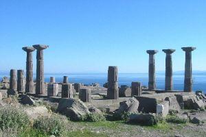 Athena Tapınağı'nın çehresi değişiyor.12531