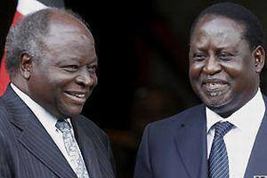 Kenya'da koalisyon hükümeti kuruluyor.11188