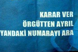 Şırnak'ta 5 PKK'lı teslim oldu.13923