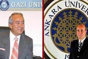 Gazi ve Ankara üniversitesi rektörlerine inceleme.15854