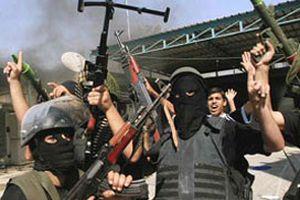 Gazze'den İsrail'e roketli saldırı.17264