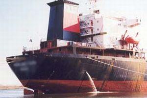 Türk ve Gürcü gemileri çarpıştı.11521