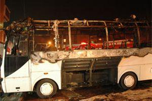 Gaziosmanpaşa'da minibüs kundaklandı.14485