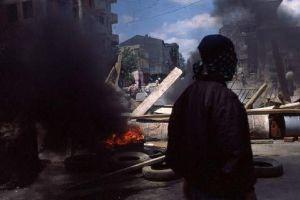 İsrail'den Batı Şeria'da tam abluka.9416