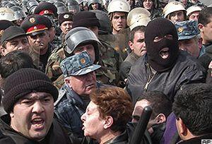 Ermenistan'da muhalifler gözaltına alındı  .22665