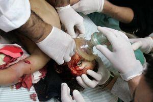 İsrail terörü büyüyor, Filistinde ölü sayısı 61 oldu.13585