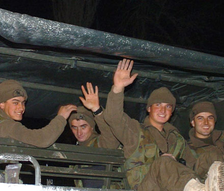 Kuzey Iraktan Son askerî birlikler de yurda döndü.43578