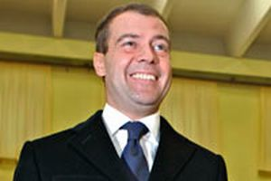 Rusya'daki sandıklardan yeni başkan Medvedev çıktı.8682