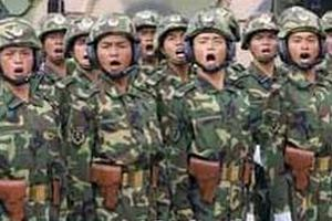 Çin'in askeri bütçesi 59 milyar dolar oldu.17770