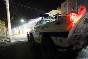 Adana'da PKK gösterisine polis müdahalesi.11227