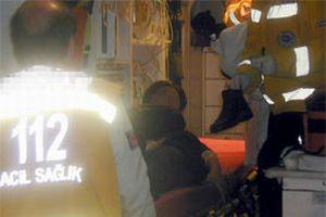 Ş.Urfa'da kaza: 10 yaralı.10276