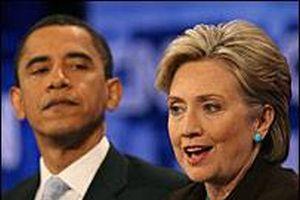 Clinton ve Obama, McCain'i geçiyor .12474